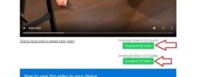 اختيار جودة الفيديو اثناء تحميله من موقع الفيسبوك