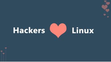 توزيعات لينكس للهكر